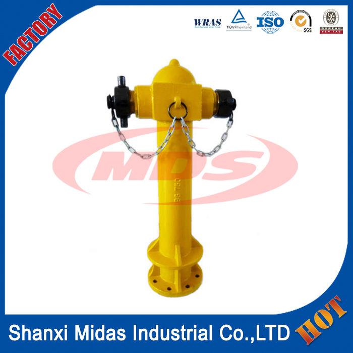 BS750 ductile cast iron 2 способ столп тип посадки пожарного гидранта для продажи