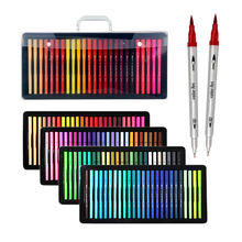 100 Colors Art Dual Tip Marker Fineliner And Water Color Brush Pen