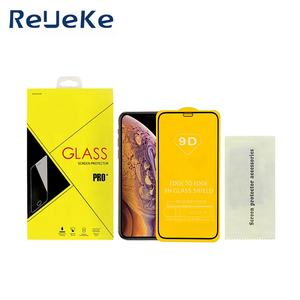 With Retail Package 5D 6D 9D 111D Full Curved Tempered Glass Screen Protector for Iphone xs max 11 12 pro Full Screen Protector
