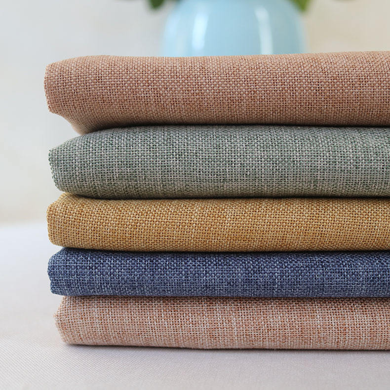 stock wholesale linen cotton crepe fabric for summer/spring shirt