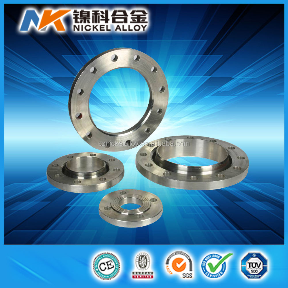 China manufacturer forged nickel alloy flange inconel 625