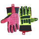Oil Rig Impact Industrial Safety Gloves in Oilfield