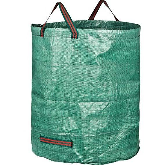 Large heavy duty strong garden waste refuse degradable manufactures rubbish bag stand
