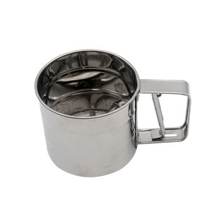 Factory direct sales good price baking tool stainless steel cup flour sifter