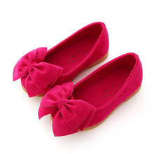 New arrival hot selling kids bow princess shoes