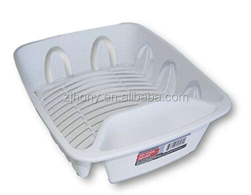 Flatware holder White Plastic Dish Drainer for new homeowners