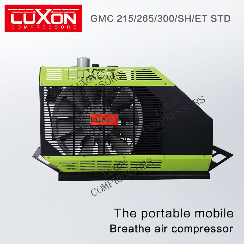 LUXON GMC 300/SH STD Semi-Portable high pressure breathing air compressor EN12021 (scuba diving & firefighting)