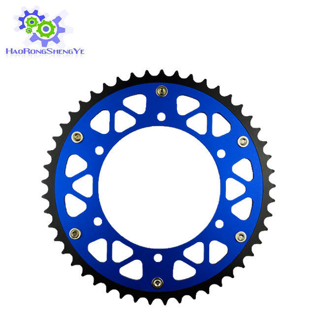 Complete kit motorcycle chain and sprocket