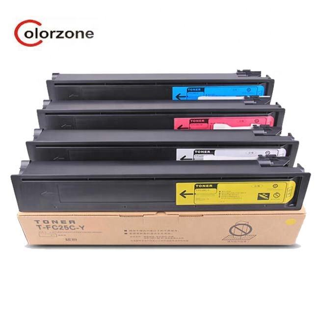 Colorzone TFC25 T-FC25 Toner cartridge compatible For TOSHIBA E STUDIO 2040C,2540C,3040C,3540C,4540C