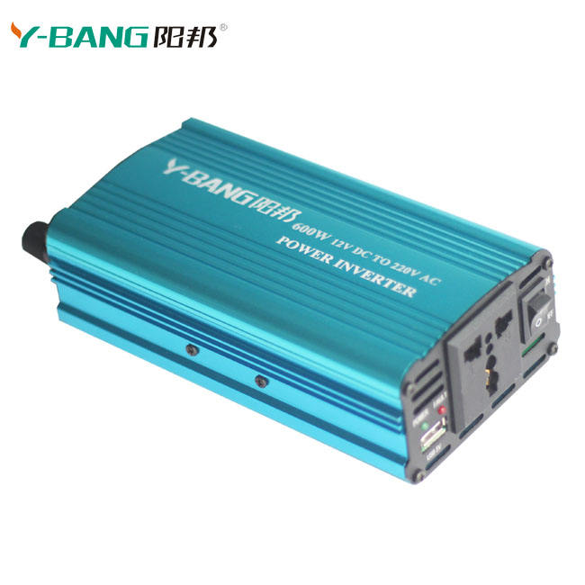 Portable Car Power Inverter 1200w Watt Dc 12v To Ac 110v 60hz Charger Converter Transformer Charger Emergency