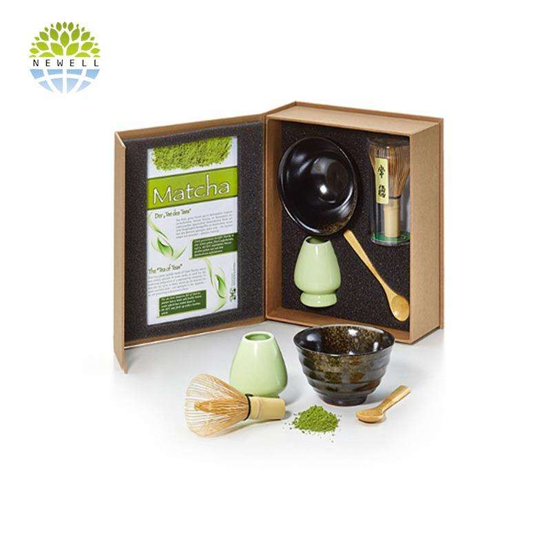 Giapponese Eco friendly 100 prongs teaware frusta set in scatola