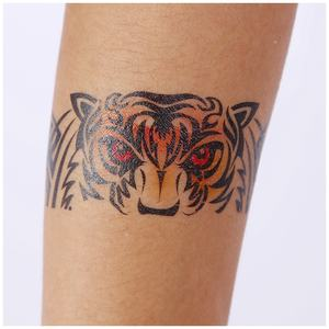 Factory custom design 3D body art waterproof tattoo stickers for men
