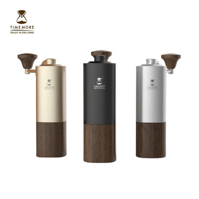 Small portable TIMEMORE Manual G1 Coffee Grinder Reddot Coarseness adjustment 304 Burr