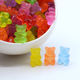 wholesale cute colorful mini resin jelly gummy bear flatback cabochons
