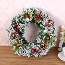 Factory wholesale Christmas supplies handmade garland christmas