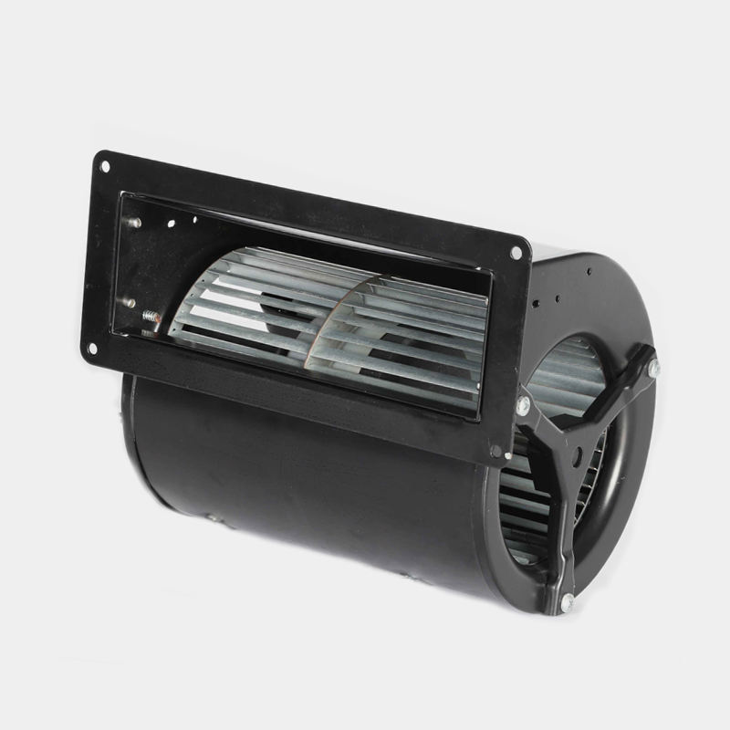 Dual inlet small size centrifugal blower fan