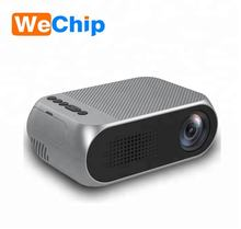Shenzhen YG320 mini projector family and business  mini LED multimedia projector resolution 320 * 240 400lumens portable project