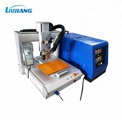LIUJIANG Automatic 3 axis glue dispensing machine with 10L hot melt tank