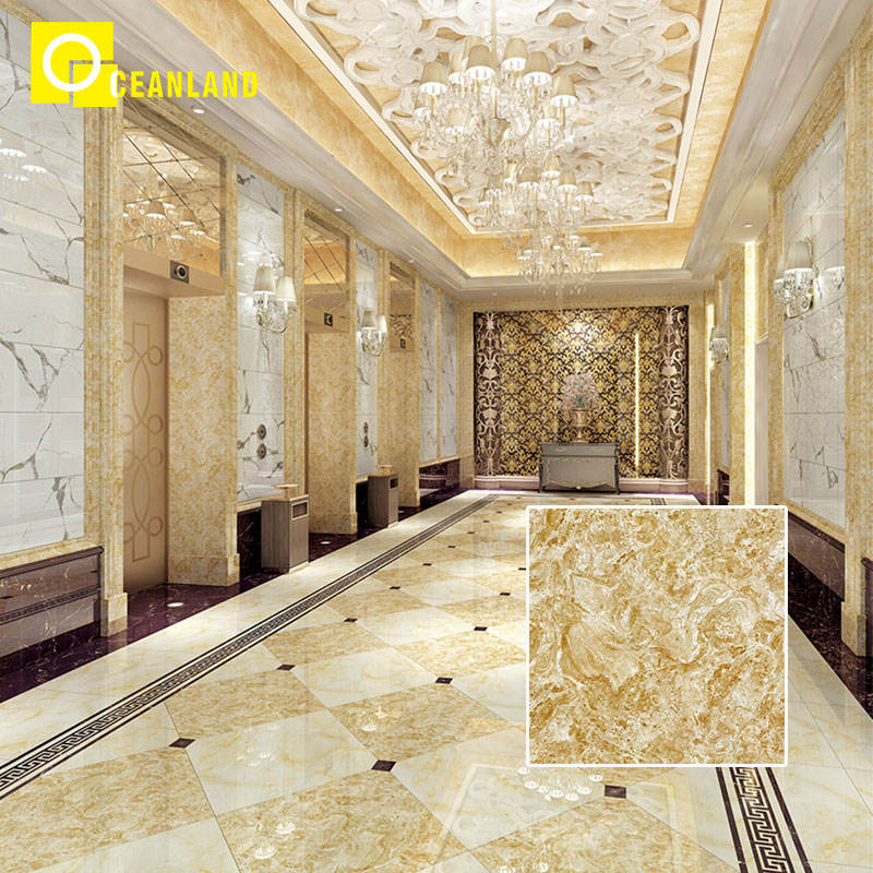 60x60 standard size rustic porcelanato hotel lobby floor tiles