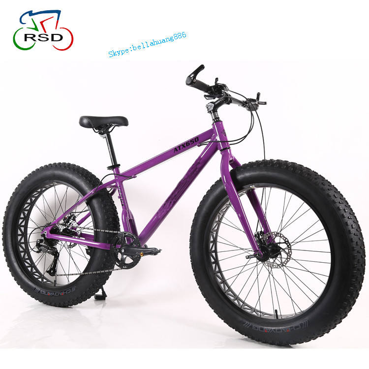 Hot sale RSD 26 inch fat bike frame/ new model snow bike/ New arrive of racing fat bike suspension fork bicycle cycle tire fat