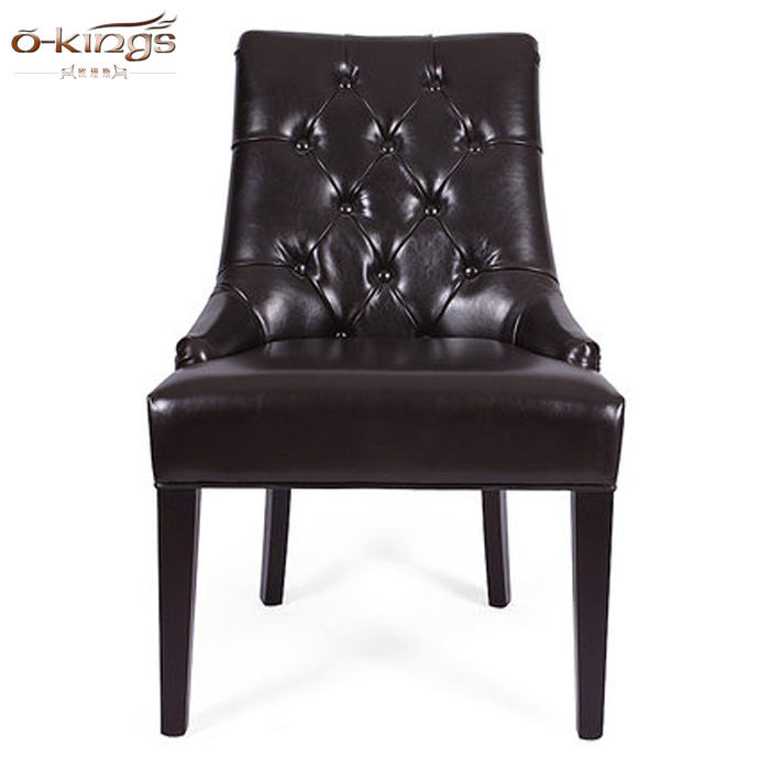 Hotel furniture used upholstered dining room chair wood banquet chairs for sale