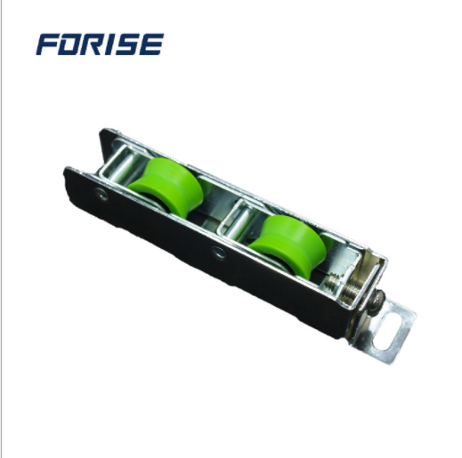 Aluminium Groove Double adjustable industrial window Roller for upvc sliding window and door FPL007