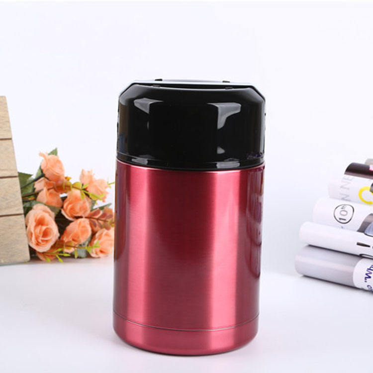 Stainless Steel Insulated Food Container Tiffin Lunch Box Food Stewing Pot