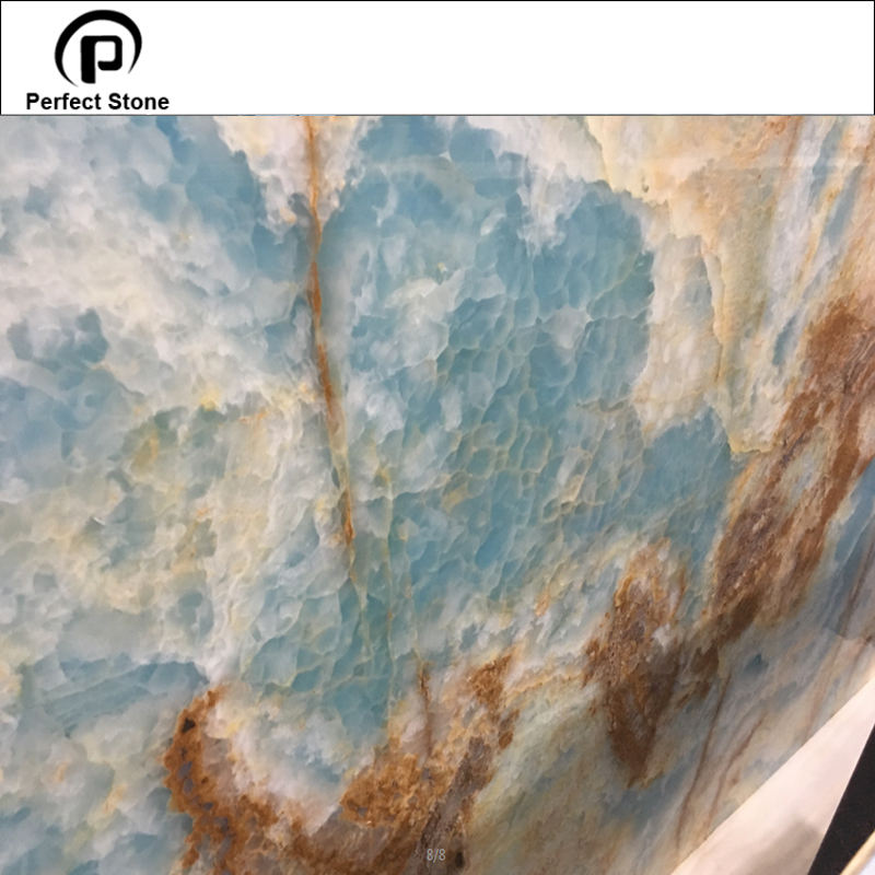 Nice panel surface project application blue onyx