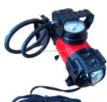 Hiqh quality Tornado 12v mini air compressor tire inflator 12V Air Pump Tyre infator compressor