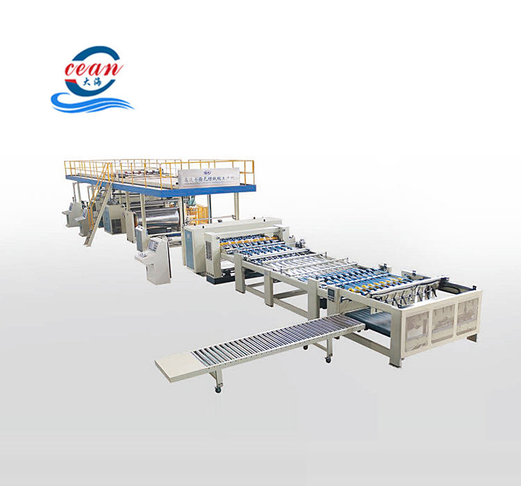 2,3,5-ply corrugated cardboard/board production line machine