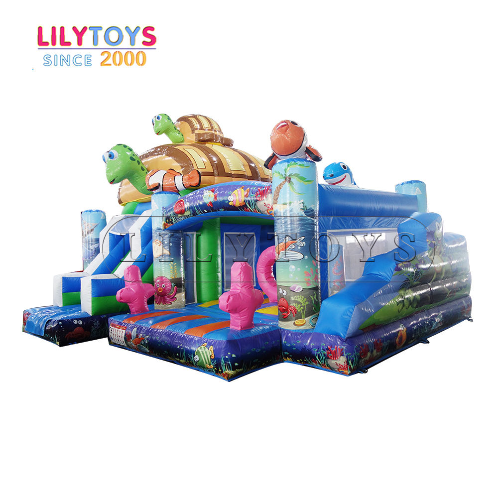 Lilytoys rental jumping castle slide, inflatable slide toys