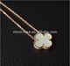 wholesale simple jewelry 925 Silver mother pearl necklace designs bulk buy from china