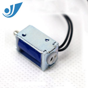 Flujo de corriente continua 3V Válvula De Solenoide Válvula de escape Electronic Blood Monitor de presión