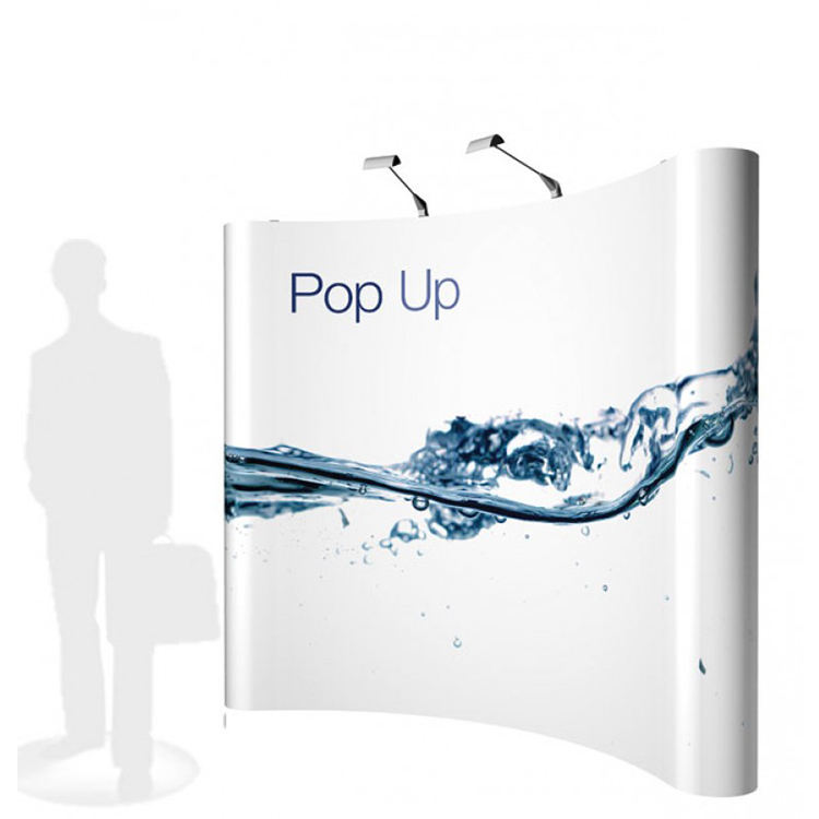 Magnetic Pop Up Display Stand Trade Show Backdrop Portable Banner Advertising Stands