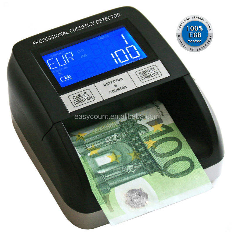 High Quality Fake Money Detector EC330 bill counter banknote detector