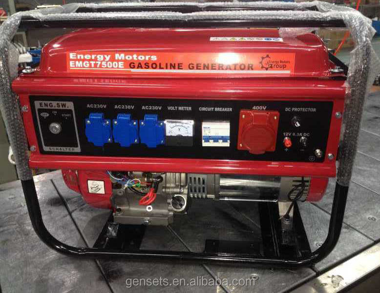 JET Power 18hp Engine 7.5 kva Gasoline Generator Price