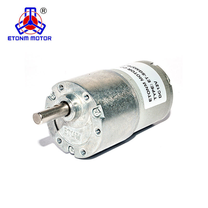 SGM37B 37mm 12v moteur <span class=keywords><strong>de</strong></span> réduction et boîte <span class=keywords><strong>de</strong></span> vitesses etonm dc moteur à engrenages fabricants