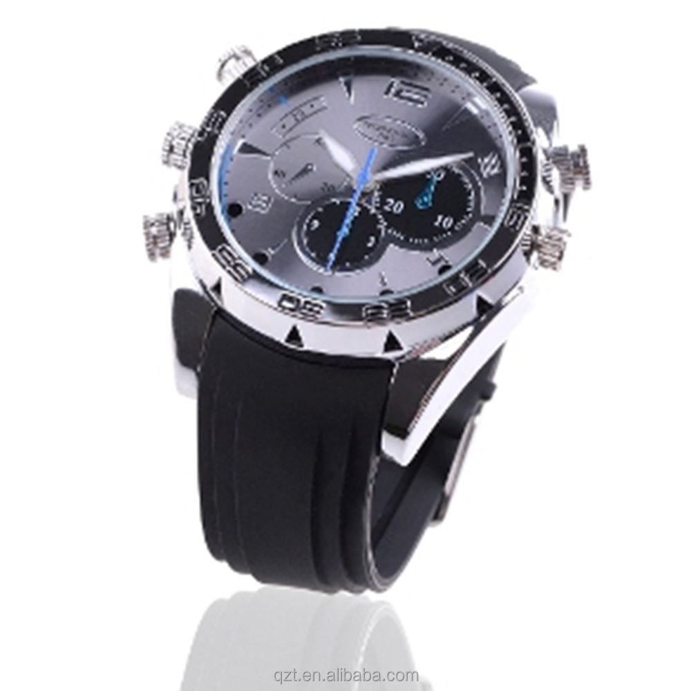 QZT Fashion 1080P Full HD Digital Video Wrist Spy Watch Camera