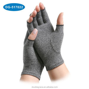 Hot selling Cotton Lycra Compression Arthritis Glove for Pain Relief
