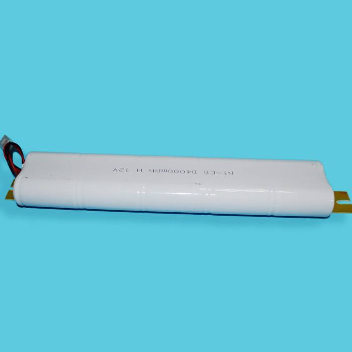 12v Rechargeable Battery Rechargeable NICD Battery Pack 12V D Size 4000mAh Inverter Battery For LED Emergency Module