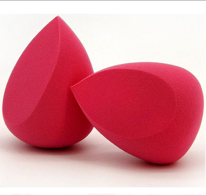 New Style Oval Makeup sponge Non-latex red cosmetic beauty puff blender sponge