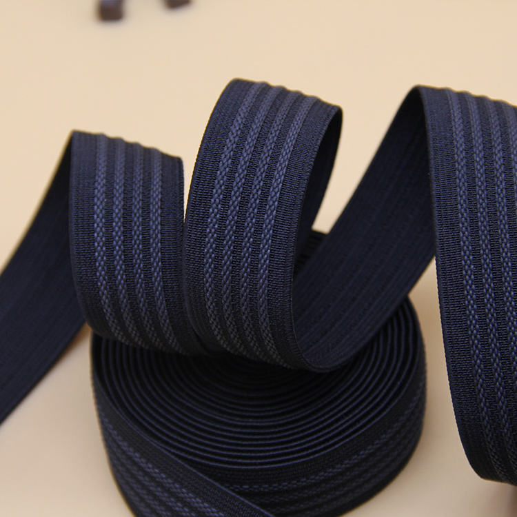 Factory direct supply gedessineerde polyester hijsband/lifting riem zijde elastische lint