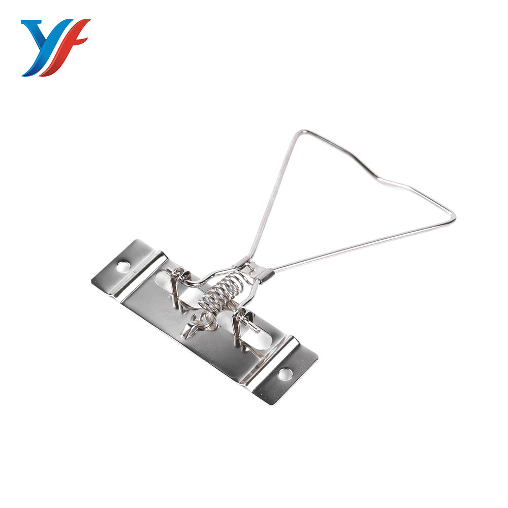 Commonly used triangle lever arch silver box file clips