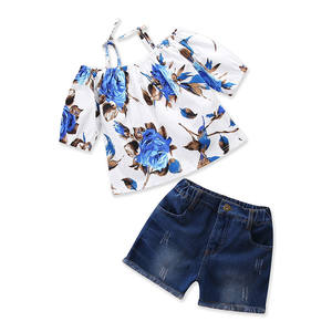 Children summer clothes,bulk wholesale kids clothing,wholesale children's boutique cloth set
