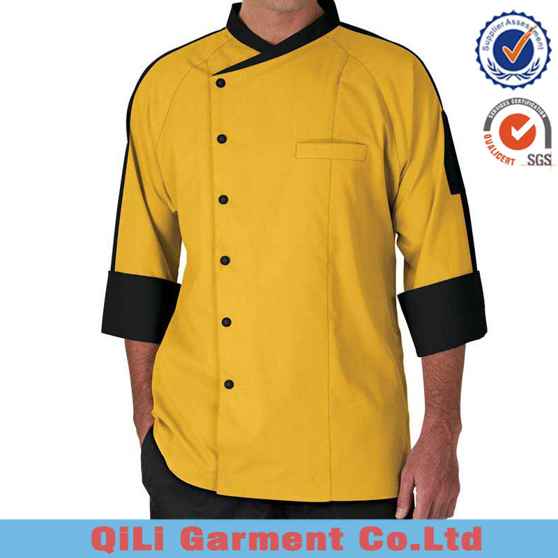 high quality chef jacket restaurant uniform kitchen cooking chef 1pc order