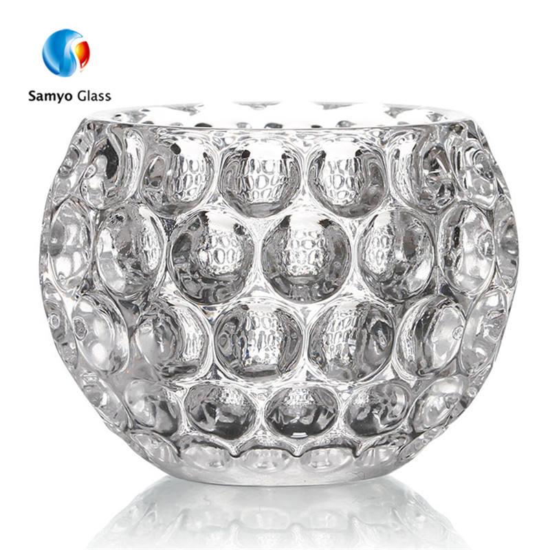 Diamond Crush Large Tealight Holder Tea Light Candle Holder Cup