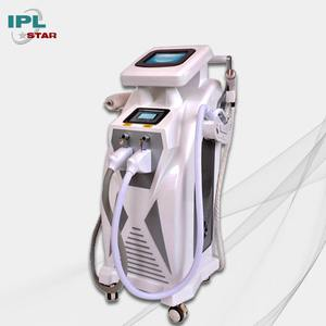 sorisa beauty equipment ipl hair removal machine with ipl elight shr nd yag for bikini