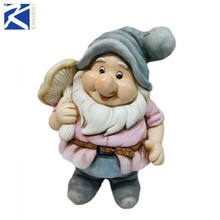 cheap resin garden gnome for garden decoration