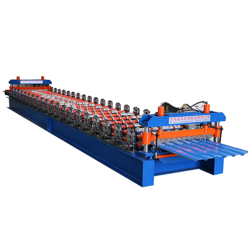High Quality Metal Trapezoidal Roofing Sheet Making Roll Forming Machine