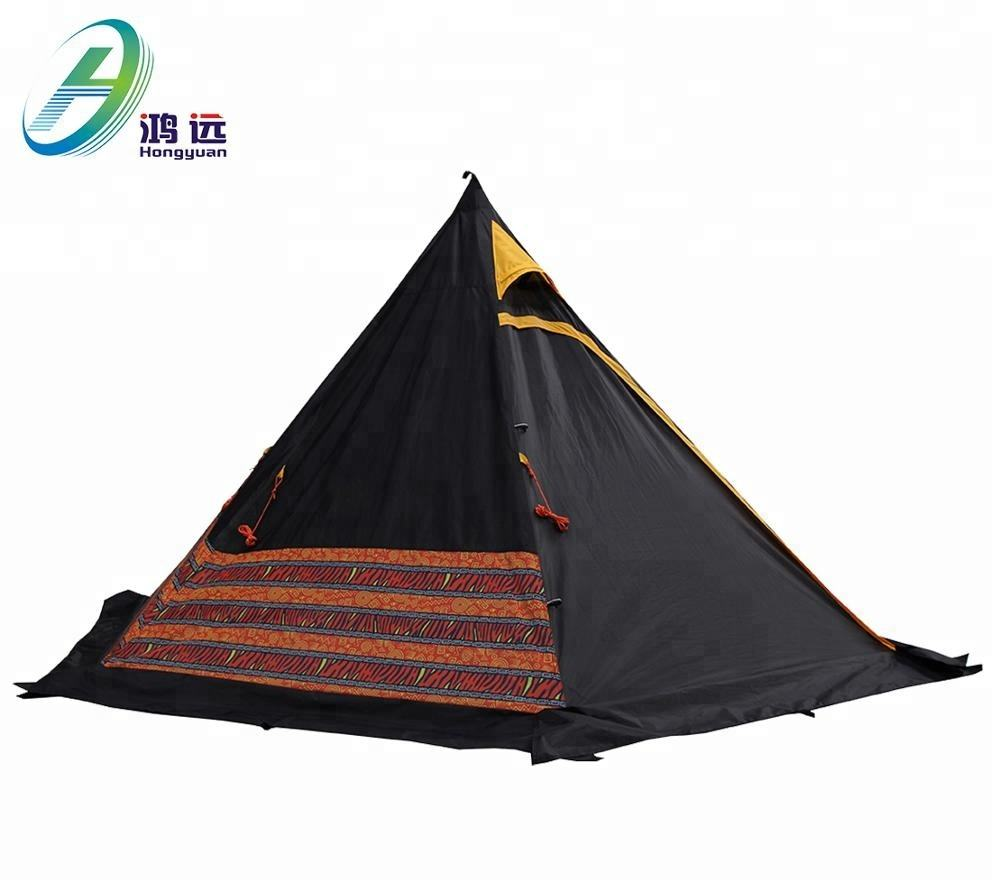 Double Layers Various Color luxury camping tent 10 person